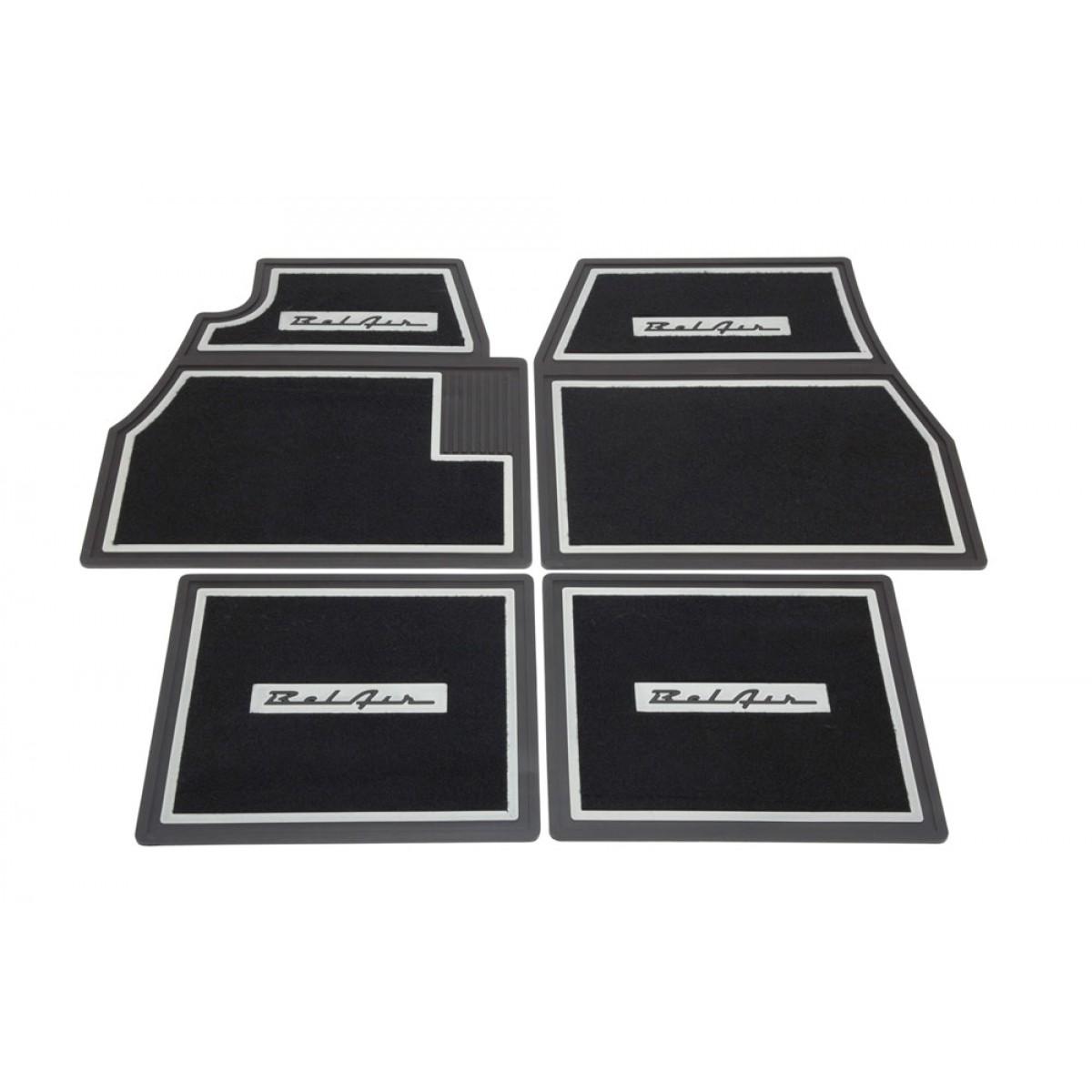 Floor Mats 55 7 Belair Black