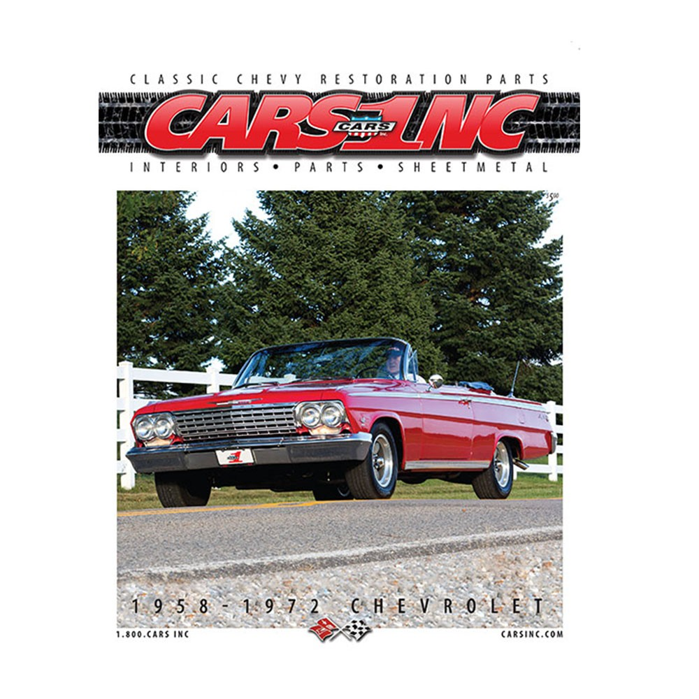 1958-72 Full-Size Chevrolet Parts Catalog - International Delivery