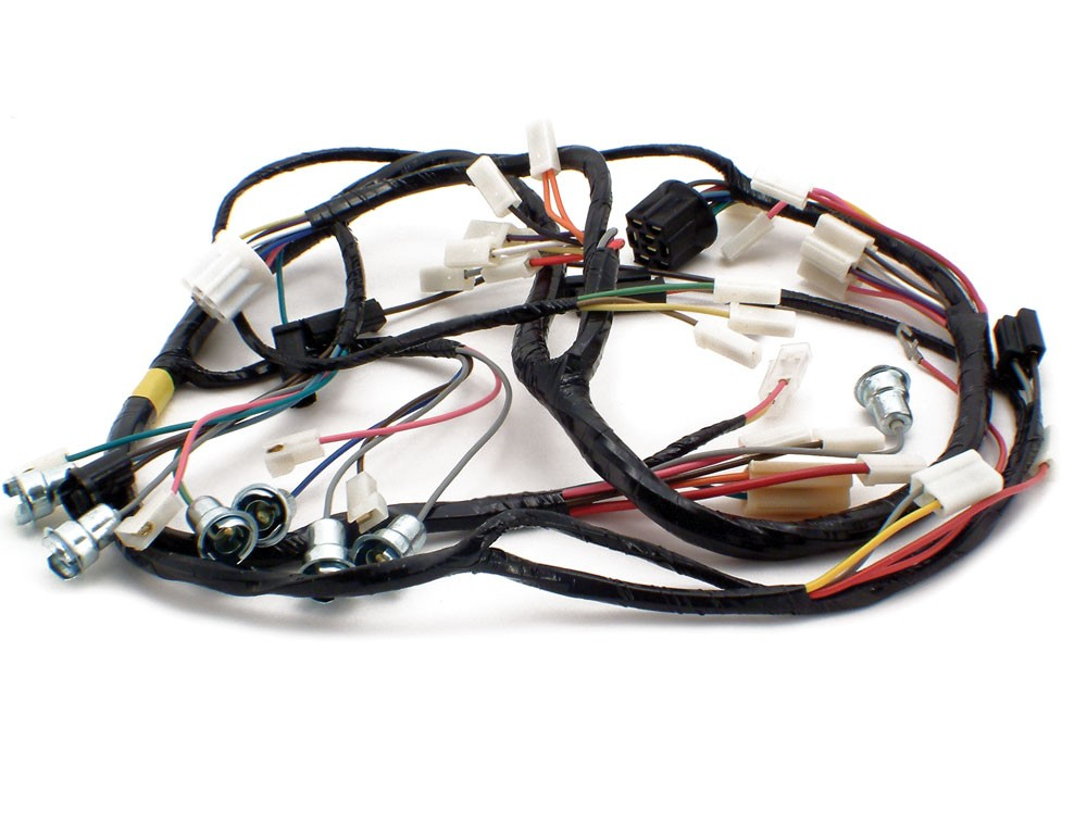 Wiring Harness 1956 Chevy Underdash with Deluxe Radio and Heater