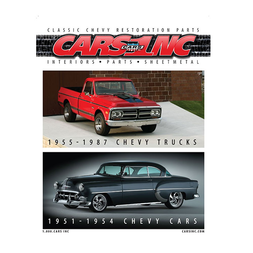 1951-1954 Chevrolet and 1955-1987 Chevy Truck Parts Catalog