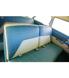 1955 210 Delray Seat Cover Sets -Beige and Blue